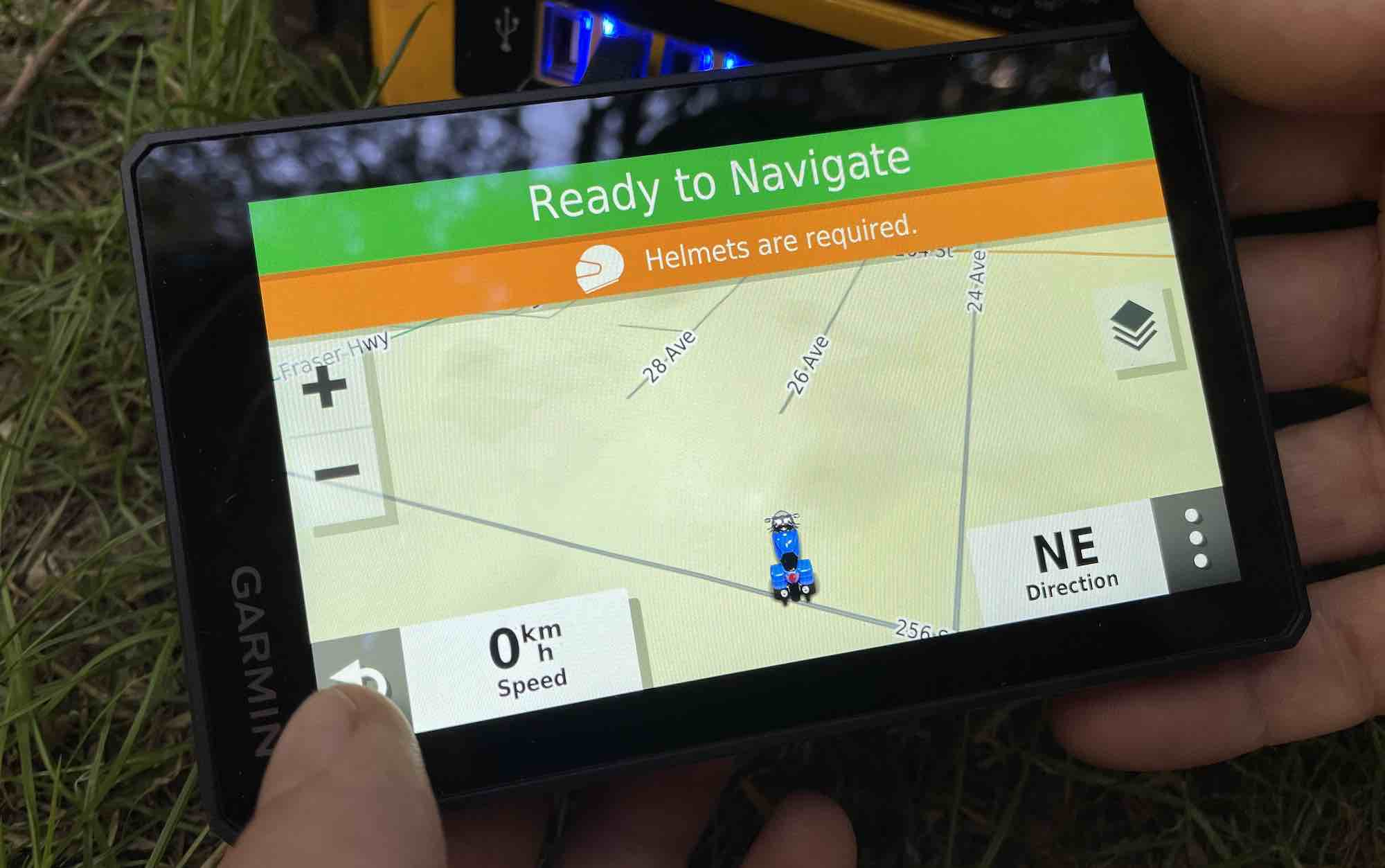 Garmin all terrain GPS