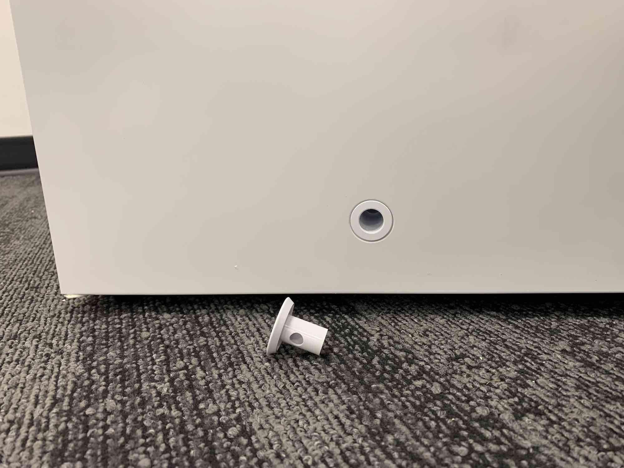 Insignia chest freezer drain plug