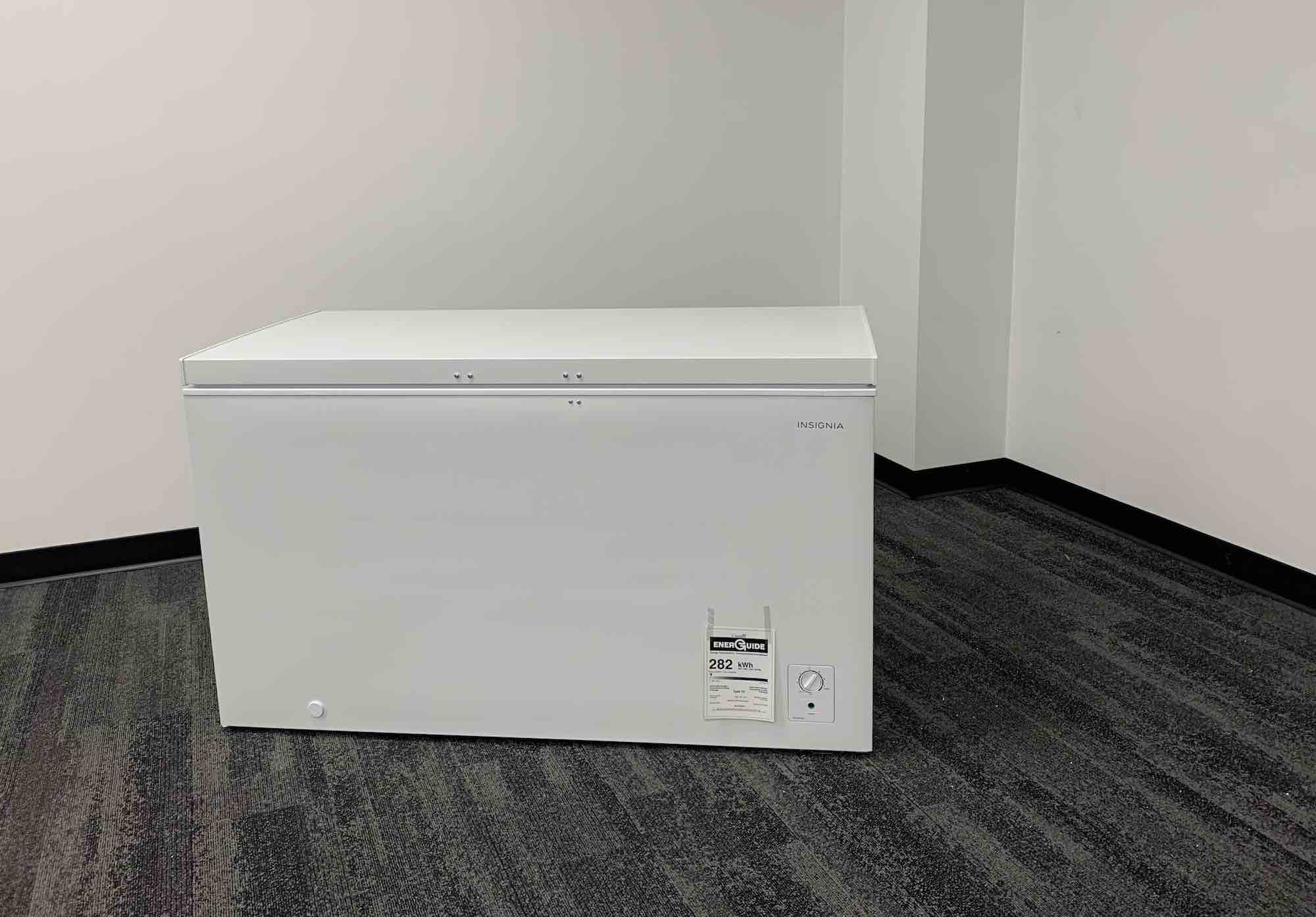 Insignia chest freezer review
