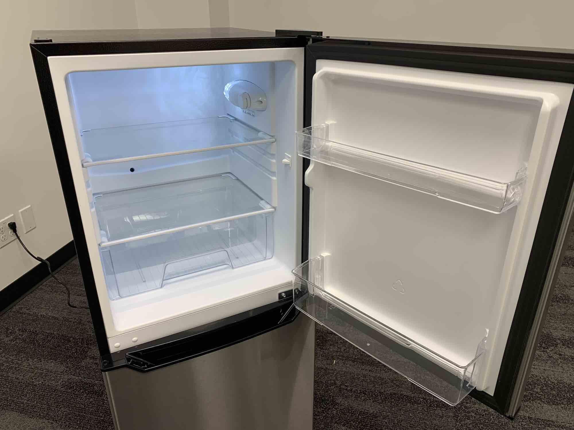 Insignia mini fridge freezer