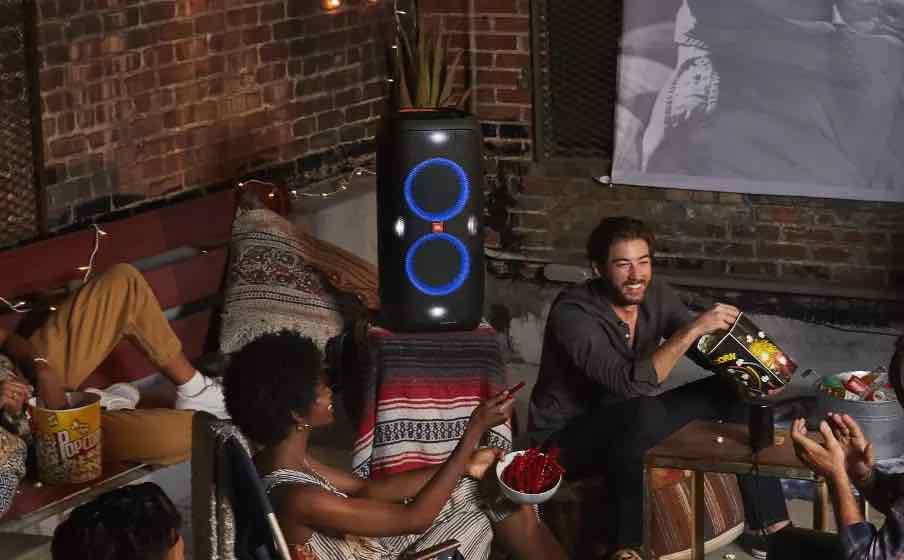JBL party speakers