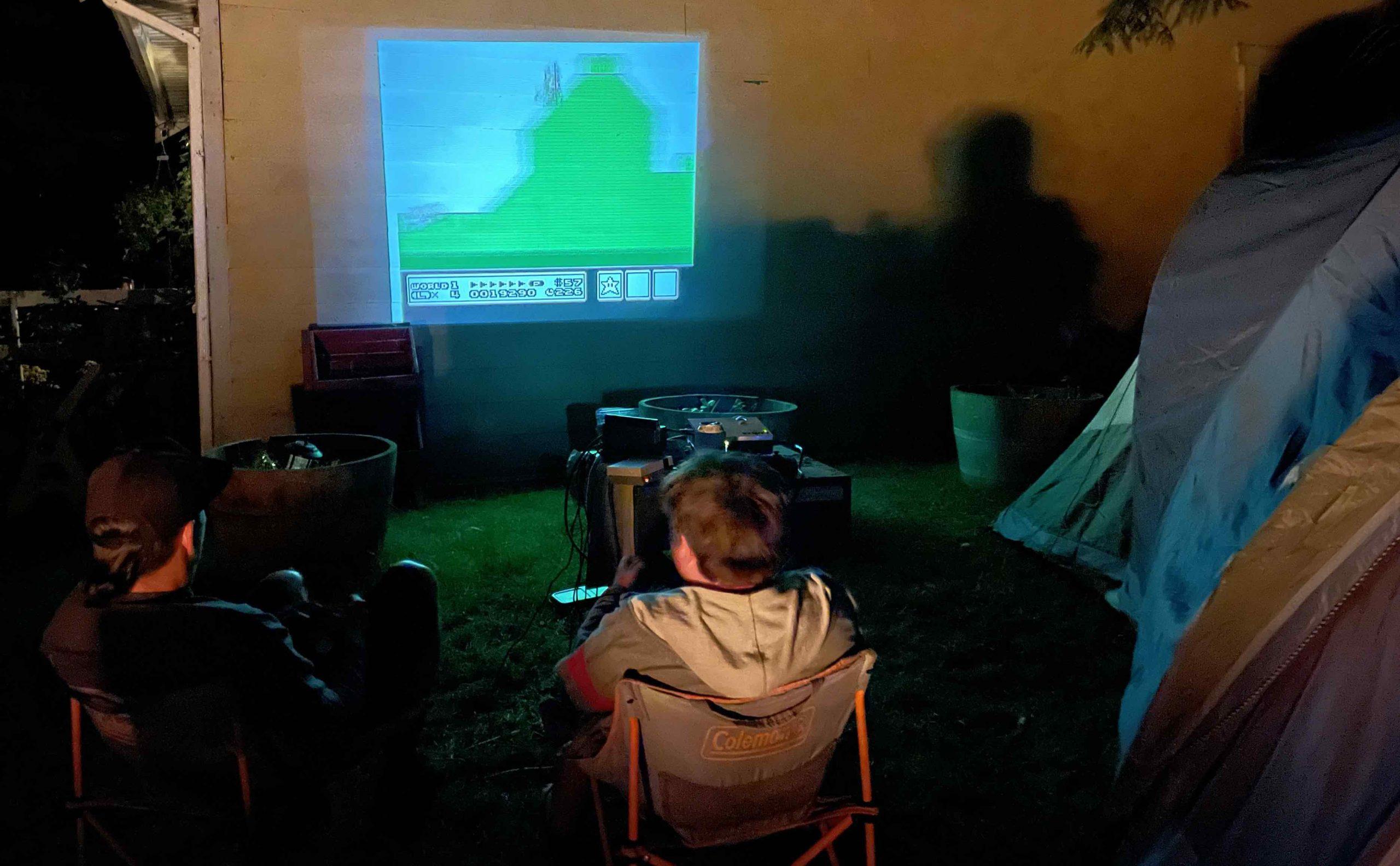Vankyo leisure 3W review outdoor projector