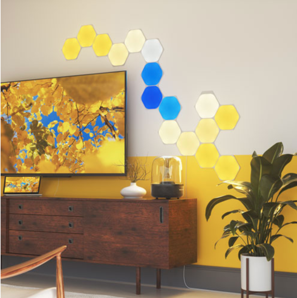 Nanoleaf hexagonal light panels