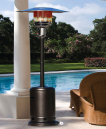 Dine outside - Paramount patio heater