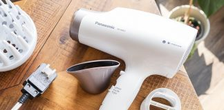 Blow drying hair guide