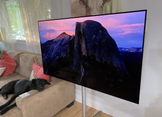 LG C1, OLED TV, review