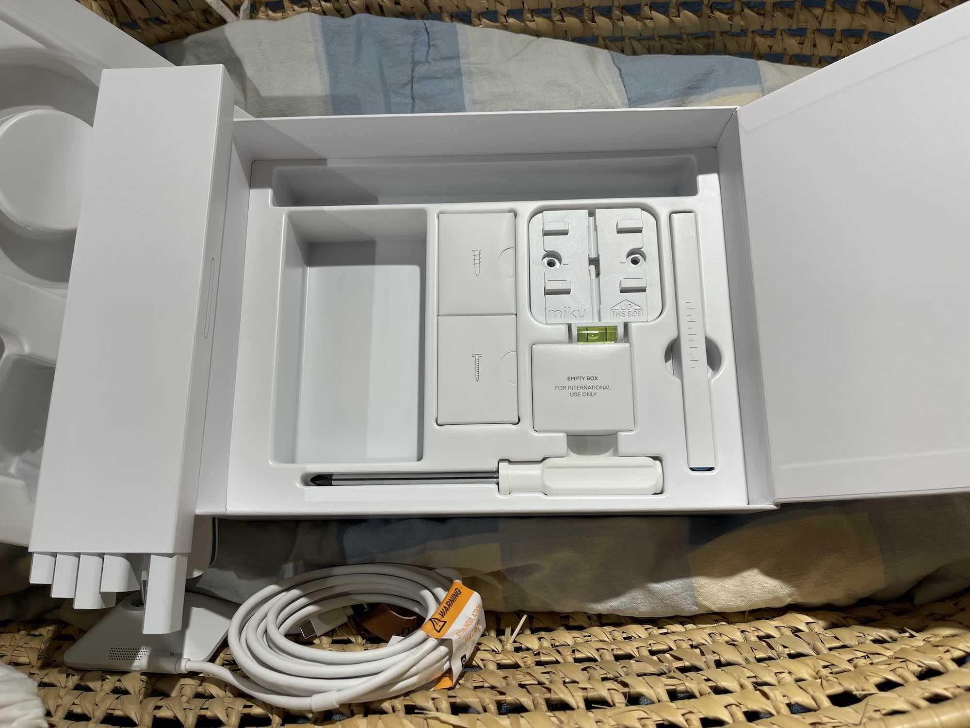 Miku Pro smart baby monitor install