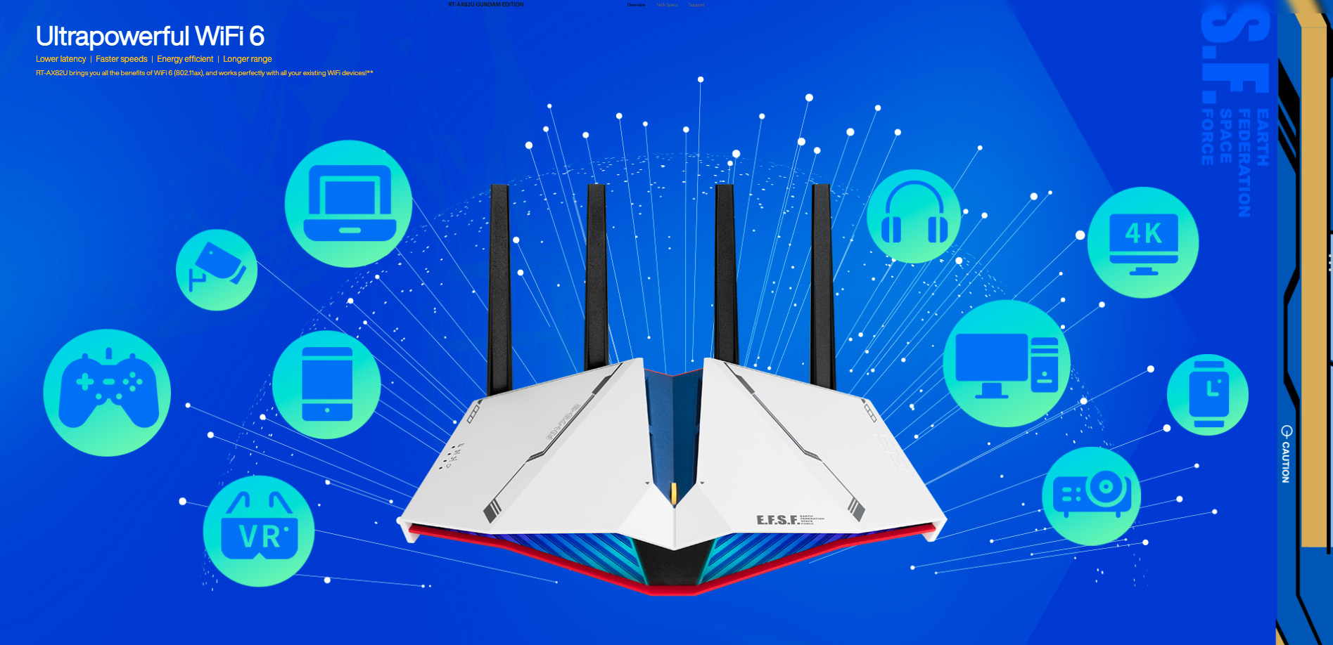 ASUS Wireless AX5400 Dual-Band Wi-Fi 6 Gaming Router