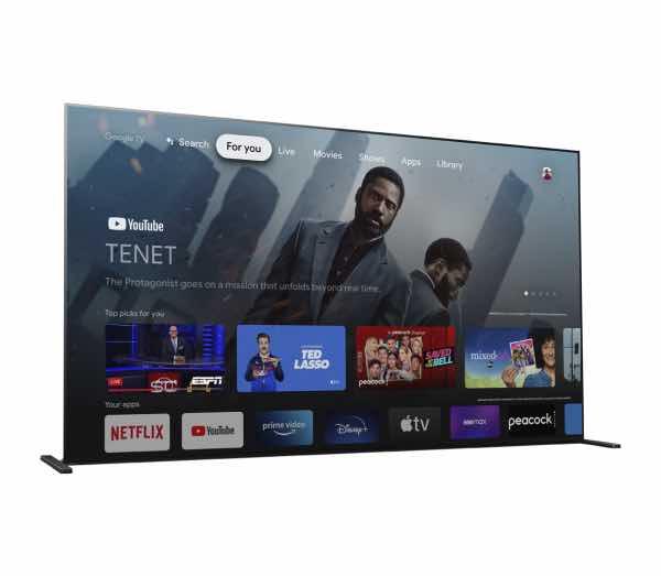 Google TV OS on Sony TVs