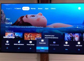 Google TV on Sony BRAVIA XR TVs