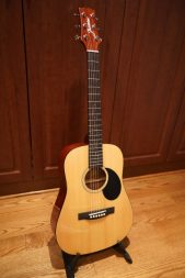 The JM-10 is a great guitar for travel