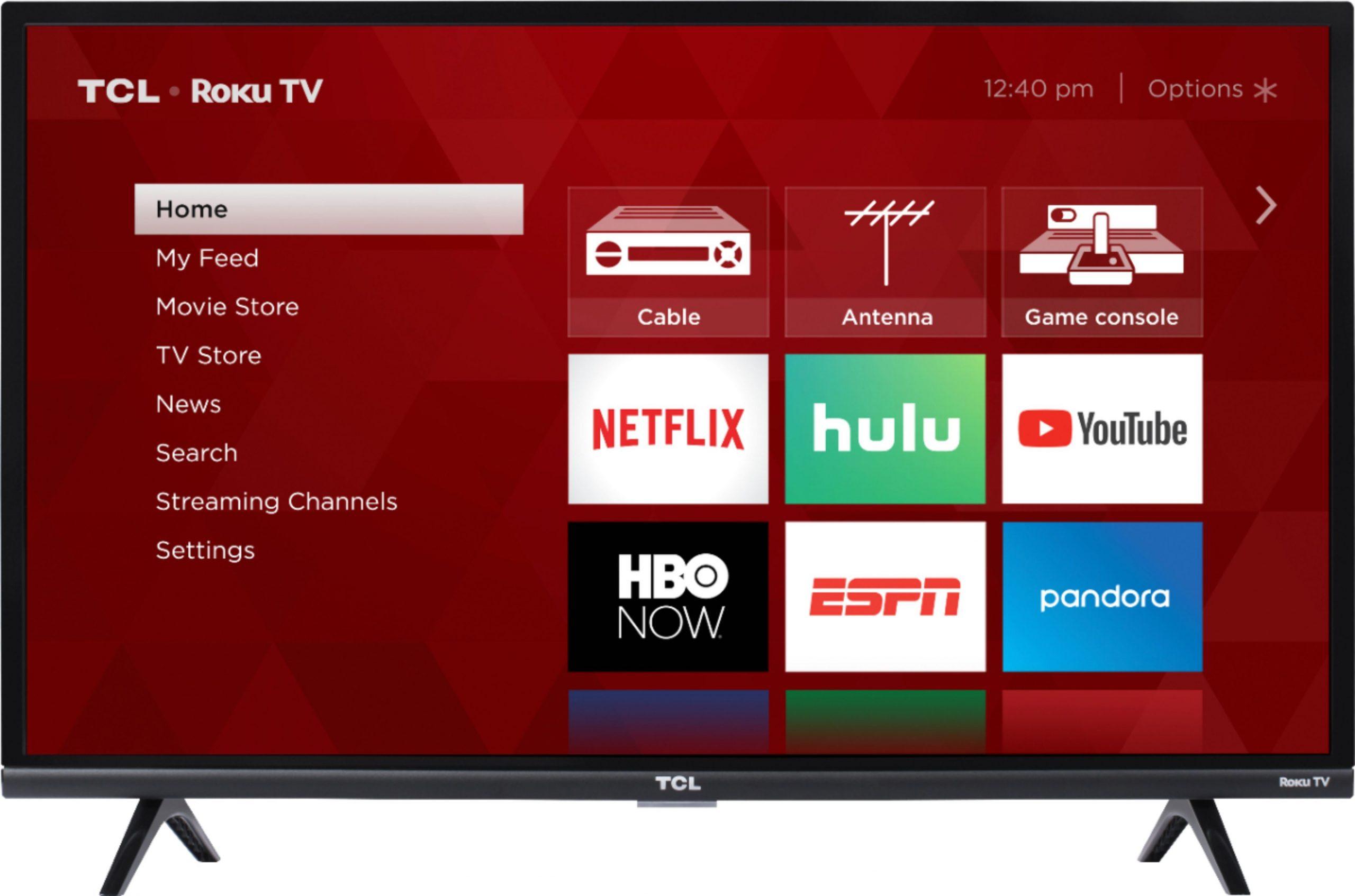 Roku TCL TV operating system