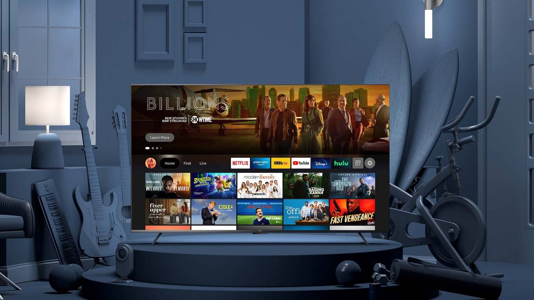 amazon fire tv omni available at Best Buy