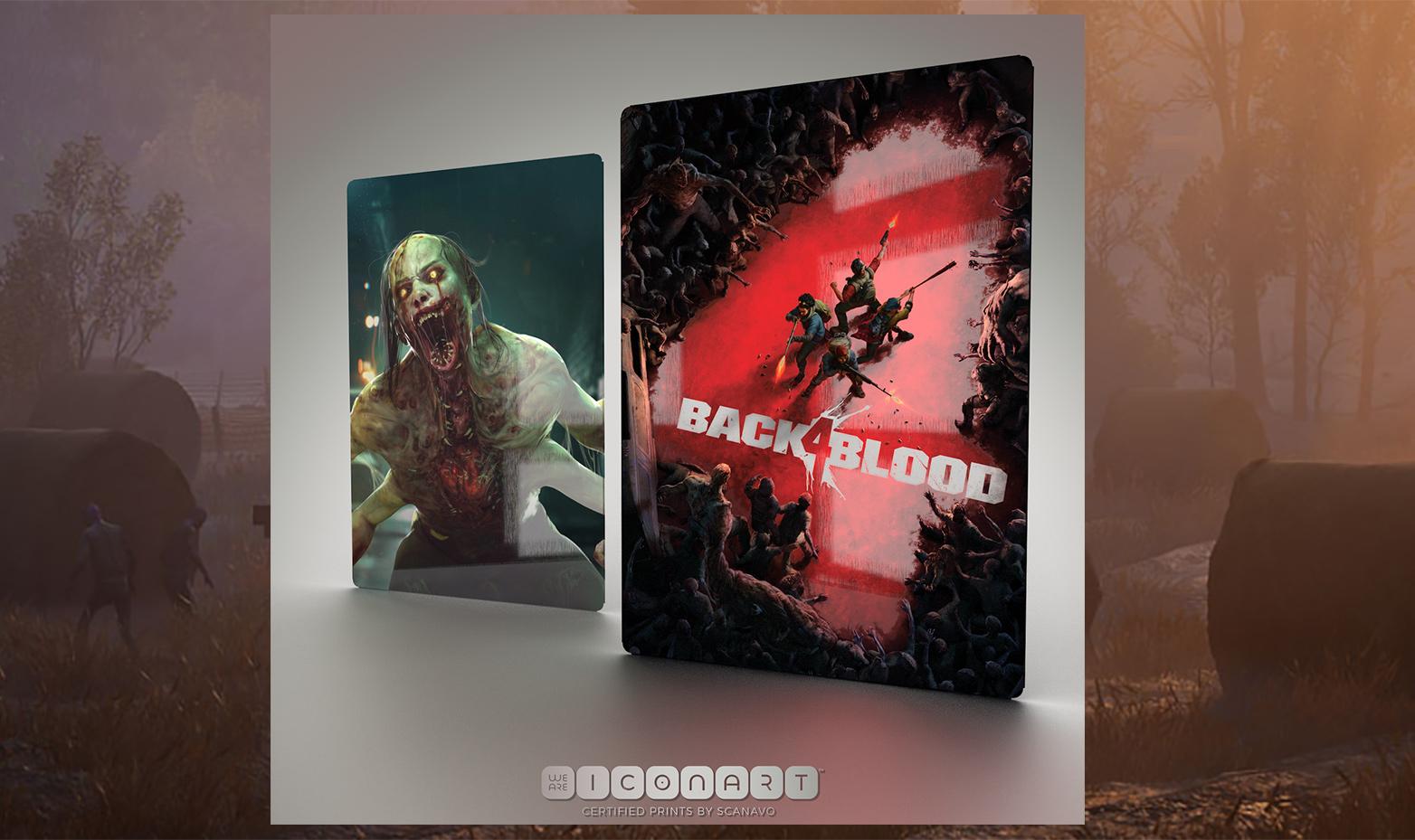 Back4Blood steelbook posters
