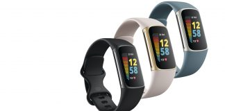 Fitbit Charge 5 in three colours