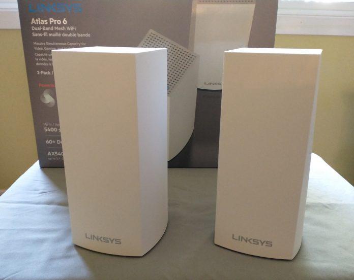 Linksys Atlas Pro 6 AX5400 Whole Home Mesh Wi-Fi 6
