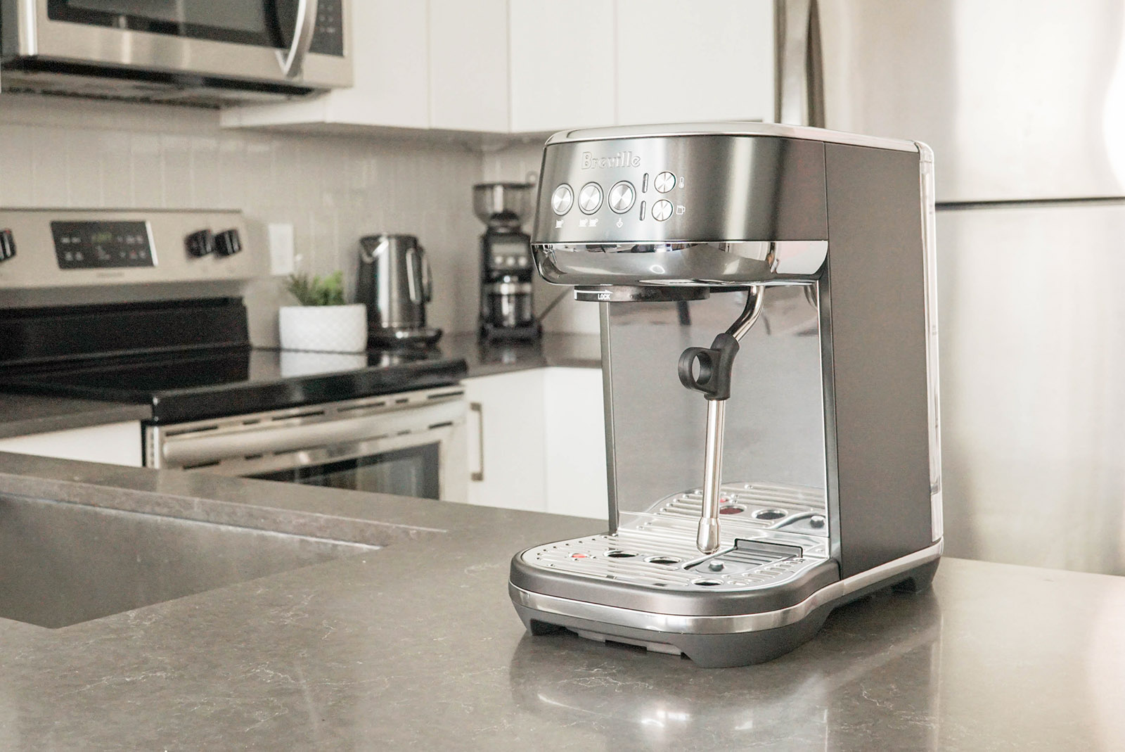 Breville Bambino Plus and grinder review 1