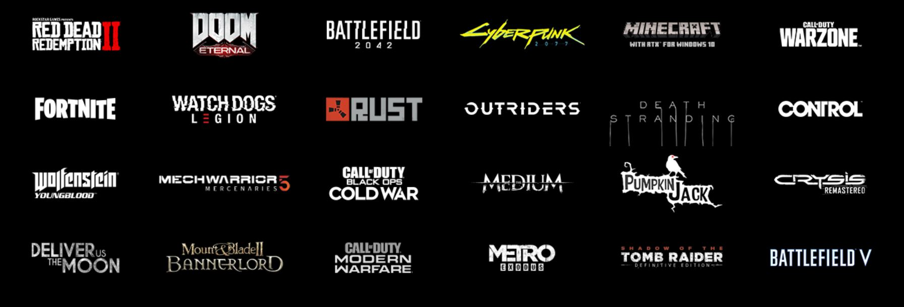 PC games compatible with DLSS