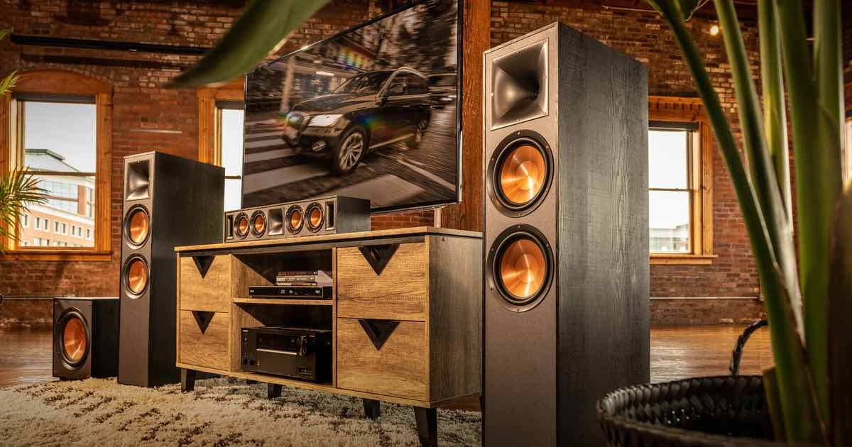 Klipsch speakers home theatre audio