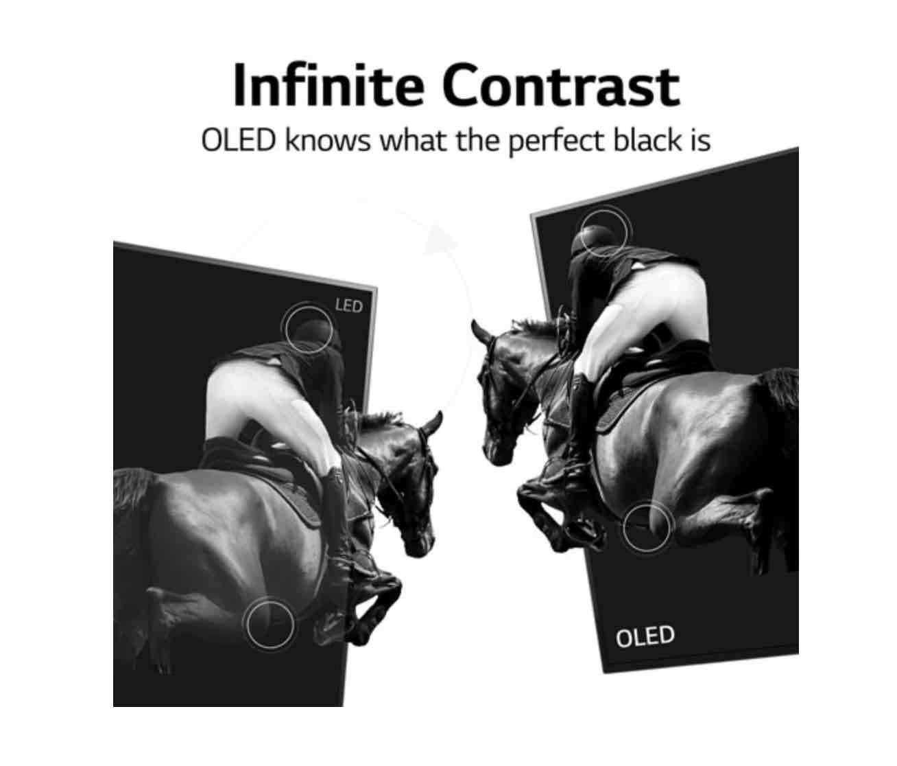OLED Infinite black