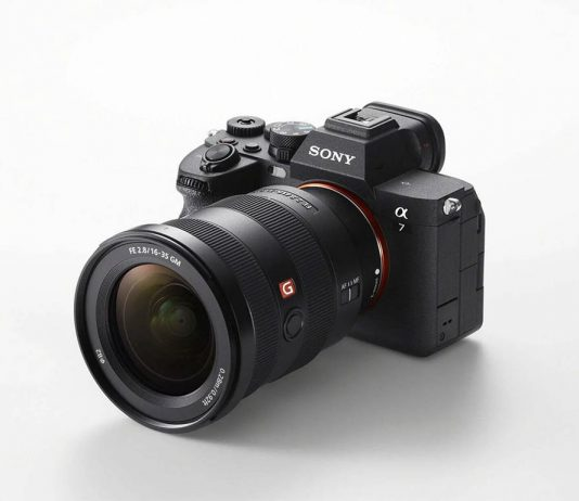 A photo of the Sony A7 IV