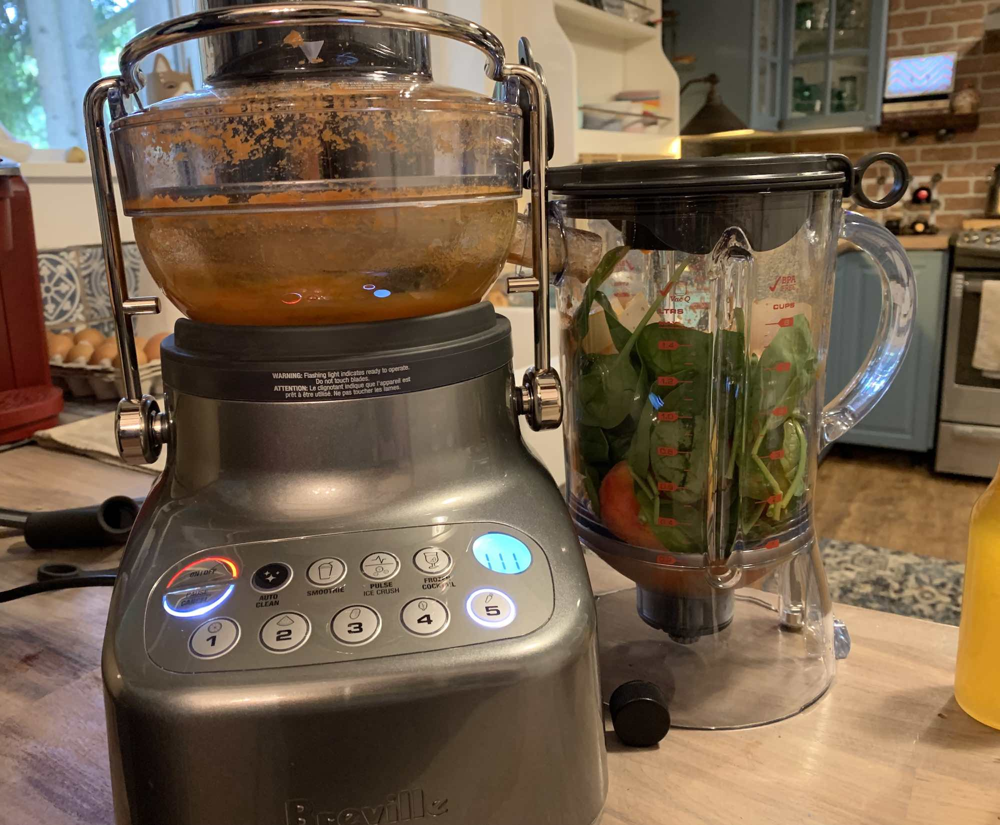 As a multifunction appliance, Bluicers combine juicing and blending.