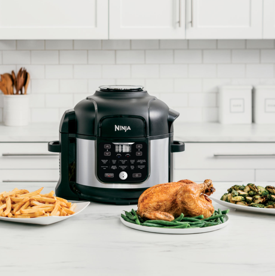 Ninja Foodie is a multifunction appliance that can make multiple dishes.